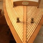 folkboat en cours de restauration