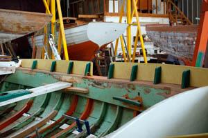 L'atelier de restauration navale