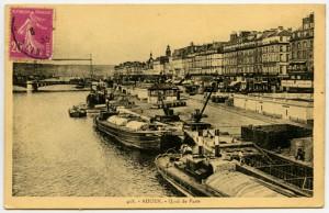 Carte postale - Rouen - Quai de Paris